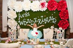 Alice in Wonderland Birthday Party Ideas | Photo 1 of 28 | Catch My Party