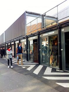 boxpark - shoreditch, east london