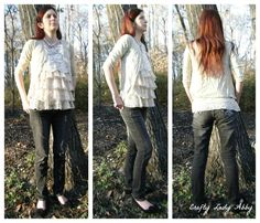 Crafty Lady Abby: OOTD: Casual Lace