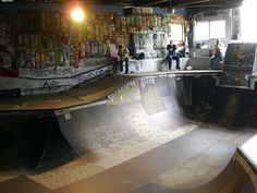 awesome indoor skate parks - Google Search