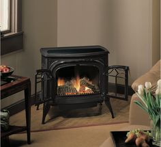 Pleasant Hearth 42 In Dual Burner Vent Free Tobacco Corner