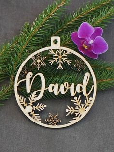 CHRISTMAS tree baubles Christmas tree decors personalized ornament laser cut names CHRISTMAS custom gift tags with year and name Decor Christmas Tree Baubles, Christmas Gift Tags, Christmas Tree Decorations, Christmas Crafts, Etsy Christmas, Family Christmas, Personalized Ornaments, Personalized Tags, Customized Gifts