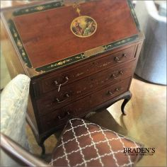 Furniture in Knoxville - Antique Furniture - French Secretary - Knoxville Home Décor - Home Interiors - Knoxville Interior Design - The Design Center at Braden's - Braden's Lifestyles Furniture