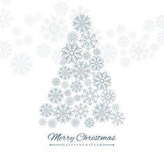 fond Joyeux Noël Vecteur gratuit