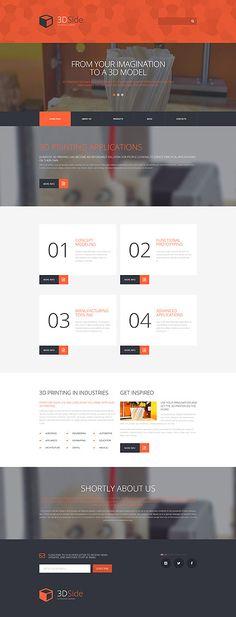 Print Shop #WordPressTheme wordpress website template