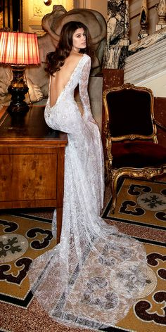 24 Dimitrius Dalia Wedding Dresses For Modern Bride ❤ dimitrius dalia wedding dresses lace long sleeves best low back ❤ See more: http://www.weddingforward.com/dimitrius-dalia-wedding-dresses/ #weddingforward #wedding #bride