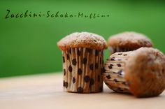 Blogschokolade & Butterpost: Zucchini-Schoko-Muffins