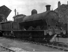 LMS ex-LNWR G1 Class 6F 0-8-0 9161 taking on water at Springs Branch shed, Wigan [31 August 1947]