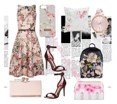 """""""Love Ted Baker"""" by k-aren-love ❤ liked on Polyvore featuring Ted Baker"""