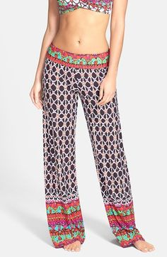 Trina Turk Foldover Cover-Up Pants available at #Nordstrom