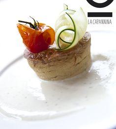 Sformatino di Castelmagno su vellutata di Parmiggiano Reggiano  Castelmagno cheese flan and cream of Parmigiano Reggiano  #Torino #food #piemontese #ristorante #pizzeria  http://www.lacapanninatorino.com