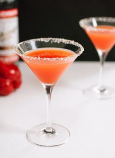 Red Pepper Martini | 21 Cocktails You Can Totally Pretend Are Healthy