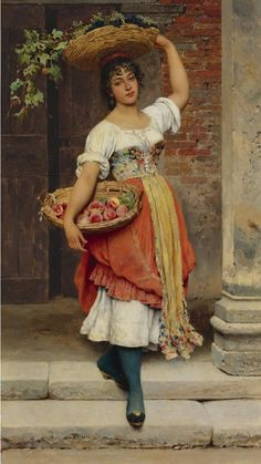 ♥ | © Lisa. Eugene de Blaas (Austrian painter,1843 -1931)