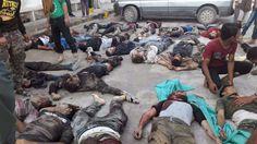 Ledakan bom hantam perbatasan Turki-Idlib 30 orang tewas 80 orang cedera  IDLIB (Arrahmah.com) - Tiga puluh warga sipil tewas dan sekitar 80 lainnya luka-luka setelah sebuah bom meledak di persimpangan Atma perbatasan Turki dan pedesaan utara Idlib koresponden Orient News melaporkan.  Ledakan itu disebabkan oleh bom yang diletakkan di sebuah koper meledak di persimpangan Atma yang berada di bagian sisi Suriah Shaer Summaq koresponden Orient News melaporkan.  Di antara yang tewas adalah…