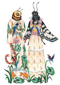 Illustration by Phannapast Taychamaythakool for Gucci