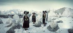Civilisations primitives en voie de disparitions - Photos de Jimmy Nelson - Le peuple du Ladakh, Jammu-et-Cachemire, l'Inde du Nord