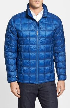 $195, Rainforest Regular Fit Quilted Thermoluxe Packable Puffer Jacket. Sold by Nordstrom. Click for more info: https://lookastic.com/men/shop_items/85978/redirect