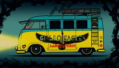 Giallo Eagles Laboratorio-BUS