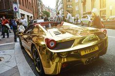 gold chrome car - Google 検索