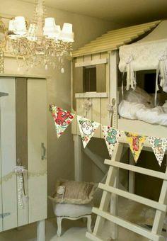 Treehoise bunkbeds