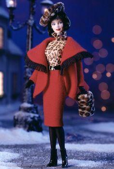 1999 - City Seasons™ - Winter in Montreal™ Barbie® #22258: