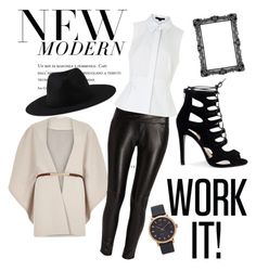 Modern Woman by marhay-ini on Polyvore featuring polyvore fashion style Alexander Wang River Island Morgan Marc Jacobs Element modern clothing