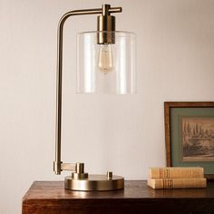 Hudson Industrial Desk Lamp - Threshold™ : Target