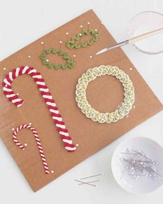 Rickrack seems to shimmy and skip, its dips and points all but doing a dance. Add it to any surface, and expect a smile. You can weave it into decorative braids, gather it with needle and thread to fashion flowers, or stiffen it to create wreaths, holly clusters, and candy canes.