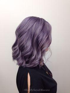 Hair Dye - smokey lavender hair