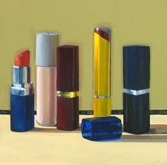 Art From My Easel...by Jacqueline McIntyre: Lipstick #2 ( SOLD )