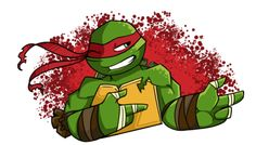Hey babe, how you dooin'? <--- I would DIE if someone dressed as raph said this to me. ☺️