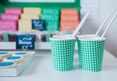 Fabric Wrapped Cups