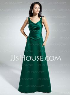 Mother of the Bride Dresses - $126.29 - A-Line/Princess V-neck Floor-Length Satin Mother of the Bride Dresses With Ruffle (008014947) http://jjshouse.com/A-Line-Princess-V-Neck-Floor-Length-Satin-Mother-Of-The-Bride-Dresses-With-Ruffle-008014947-g14947