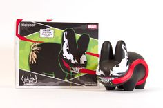 "Kidrobot x Marvel Labbit Venom 7"" Vinyl Figure"