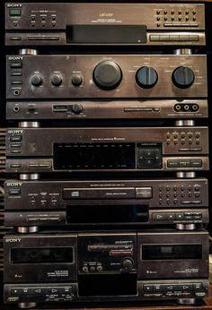Sony vintage hifi sony LBT-D707