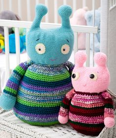 Adorable Aliens Crochet Pattern freebie, thanks so xox ☆ ★ https://www.pinterest.com/peacefuldoves/