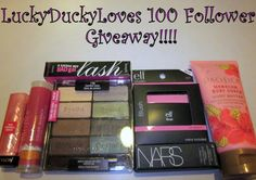Hey Everyone!!! I'm so excited to (finally!) announce my giveaway for reaching 100 subbies!! While I was out buying stuff, I decided that I wanted to give out products that I truly love. I don't want to ramble on and on about how thankful I am for each and every one of my readers (because seriously,