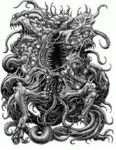 Yog-Sothoth | ... del dios exterior Shub-Niggurath y éste a su vez de Yog-Sothoth