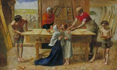 Sir John Everett Millais, Bt, 'Christ in the House of His Parents ('The Carpenter's Shop')' 1849–50