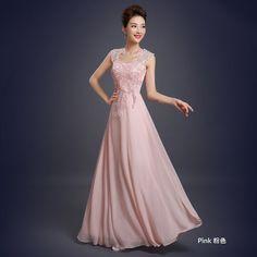 Buy Bridal Workshop Sleeveless Evening Gown   YesStyle
