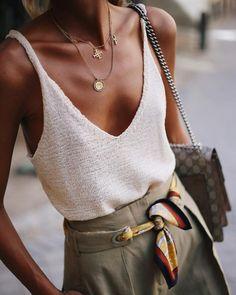 Style – Summer Outfits – Summer Fashion Tips Fashion Mode, Look Fashion, Womens Fashion, Fashion Trends, Feminine Fashion, Fashion Hacks, Classy Fashion, Fall Fashion, Earthy Fashion