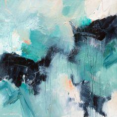 """Loosey-Goosey 3"" 36x36 Acrylic on Canvas by David M. Kessler. Art. Abstract Art."