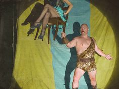 Michael Chiklis as Dell Toledo from American Horror Story: Freak Show Cast