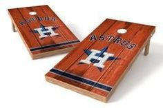 Houston Astros Single Cornhole Board - Vintage