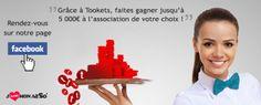 Faites gagner jusqu'à 5 000€ à l'association de votre choix !