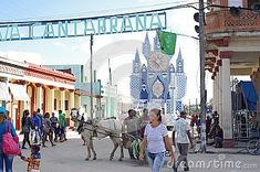 Festival float of team Cantarrana from small town Guayos in Cuba set up for the competition hold each year on December during Parrandas, carnival-like street party with originates back to the century. Image Photography, Editorial Photography, Festivals Around The World, Small Towns, 18th Century, Cuba, Competition, Carnival, December
