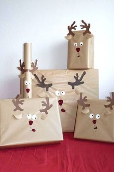 DIY Christmas Wrapping Ideas DIY Weihnachten Verpackungsideen Source by . Wrapping Ideas, Creative Gift Wrapping, Wrapping Presents, Creative Christmas Gifts, Christmas Gift Wrapping, Christmas Presents From Baby, Xmas Presents, Creative Gifts, Christmas Projects
