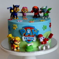 paw patrol tower cak