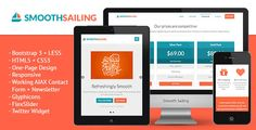 nice Smooth Sailing - One-Page Bootstrap 3 Landing Page
