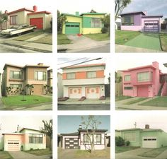 Colorful Bungalows